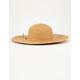 Classic Floppy Tan Womens Hat