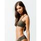 O'NEILL Salt Water Solid Olive Bikini Top