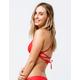 HURLEY Quick Dry Speed Red Bikini Top