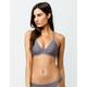 HURLEY Quick Dry Bralette Micro Stripe Bikini Top