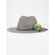 Pom Pom Womens Panama Hat