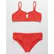 DAMSEL Knot Front Girls Bikini Set