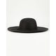 Classic Floppy Black Womens Hat