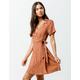 GYPSIES & MOONDUST Floral Wrap Dress