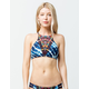 EIDON Athena High Neck Bikini Top