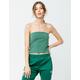 FULL TILT Essentials Green Womens Tube Top