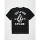 VOLCOM Big Outline Black Boys T-Shirt