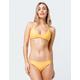 FULL TILT Cage Strap Yellow Cheeky Bikini Bottoms