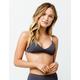 RVCA Linear Ribbed Bralette Bikini Top