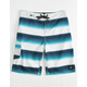 O'NEILL Santa Cruz Stripe Blue & Gray Boys Boardshorts