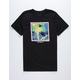 QUIKSILVER Modern Wave Black Boys T-Shirt