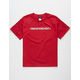 INDEPENDENT Bar Cross Red Boys T-Shirt