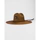 QUIKSILVER Pierside Brown Mens Lifeguard Hat