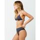 RVCA Linear Ribbed High Waisted Bikini Bottoms