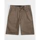 VOLCOM Frickin Chino Mushroom Boys Shorts