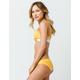 FULL TILT Reversible Yellow Hipster Bikini Bottoms