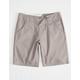 VOLCOM Riser Gray Boys Chino Shorts
