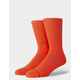 STANCE Icon Royal Red Mens Crew Socks