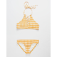 O'NEILL Checker High Neck Girls Bikini Set