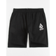 VOLCOM Rainmaker Black Boys Sweat Shorts