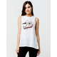 FOX Road Course Womens Muscle Tank Top