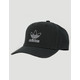 ADIDAS Originals Dart Precurve Black Mens Snapback Hat