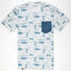 LIRA Moai Mens Pocket Tee