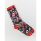 PRIMITIVE x Rick And Morty Gwendolyn Red Mens Crew Socks