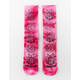 PRIMITIVE x Rick And Morty Washed Pink Mens Crew Socks