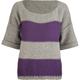 FULL TILT Reverse Stitch Womens Sweater