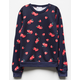 FULL TILT Strawberry Girls Sweatshirt
