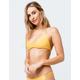 FULL TILT Yellow Bralette Bikini Top