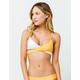 FULL TILT Wrap Bralette Yellow Bikini Top