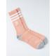 ADIDAS 3 Stripes Roller Pink Mens Crew Socks