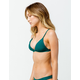 FULL TILT Fixed Triangle Emerald Bikini Top