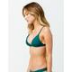 FULL TILT Fixed Triangle Emerald Bikini Top