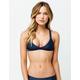 FULL TILT Trilet Navy Fade Bikini Top