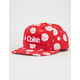 DIAMOND SUPPLY CO. x Coca-Cola Smiley Red Mens Snapback Hat
