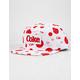 DIAMOND SUPPLY CO. x Coca-Cola Smiley White Mens Snapback Hat
