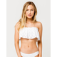 RIP CURL Designer Surf Flounce Bandeau Bikini Top