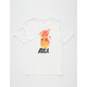 RVCA Reflections Off White Boys T-Shirt