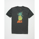 RVCA Reflections Black Boys T-Shirt