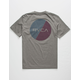 RVCA Blind Motors Gray Boys T-Shirt