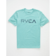 RVCA Blinded Mint Boys T-Shirt