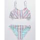 DISNEY x ROXY Treasure Stripe Flounce Girls Bikini Set