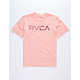 RVCA Blinded Coral Boys T-Shirt