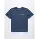 RVCA Blind Motors Navy Boys T-Shirt