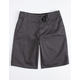 GROM Cruiser HT Charcoal Boys Shorts