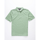 VOLCOM Wowzer Heather Olive Boys Polo Shirt