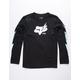 FOX Hellion Black Boys T-Shirt